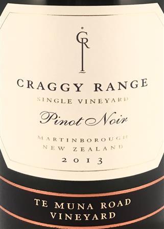 Craggy Range The Single Vineyard Pinot Noir 2018